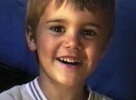 Justin Bieber, Age 6