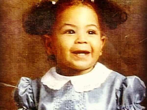Beyonce, Beyonce criança