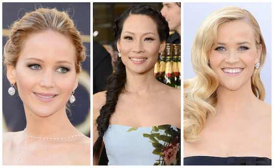 Beleza Emmy 2013, Jennifer Lawrence, Lucy Liu, Reese Witherspoon