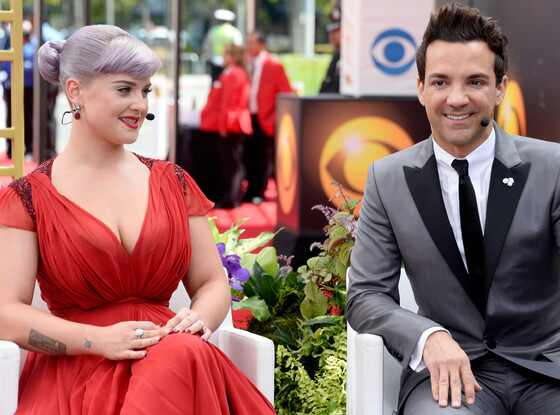 Kelly Osbourne, George Kotsiopoulos, Emmy Awards 2013
