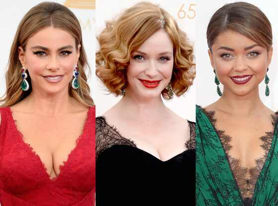 Emerald Jewelry, Sofia Vergara, Christina Hendricks, Sarah Hyland, Emmy Awards