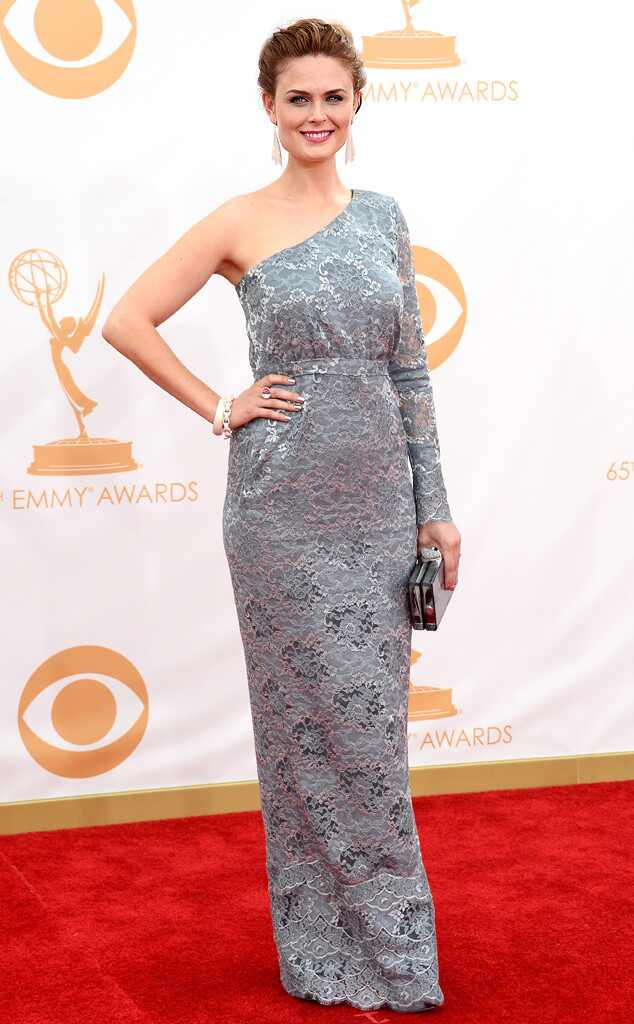 Emily Deschanel, Emmy Awards, 2013