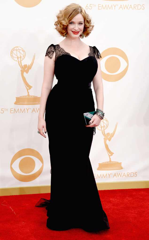Christina Hendricks, Emmy Awards, 2013