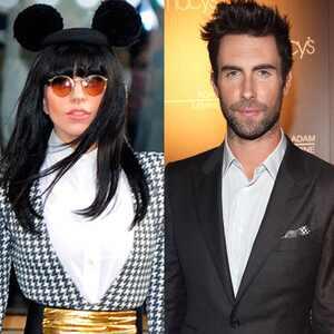 Lady Gaga, Adam Levine
