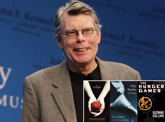Stephen King, Twilight, 50 Shades of Grey, Hunger Games