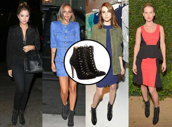 Bionda Castana Boots, Ashley Benson, Nicole Richie, Emma Roberts, Alice Eve