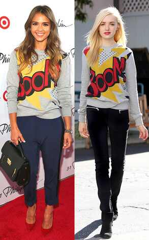 Jessica Alba, Peyton List, Phillip Lim 3. 1 for Target