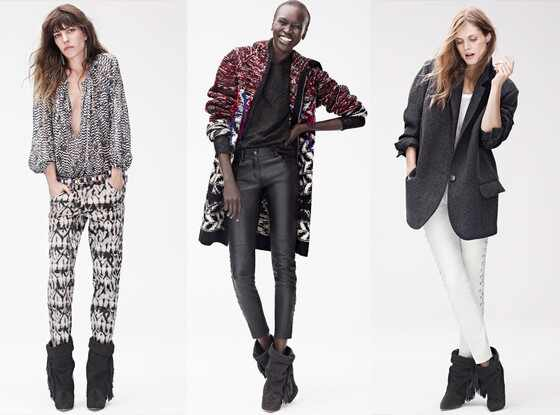 Isabel Marant x H&M Lookbook