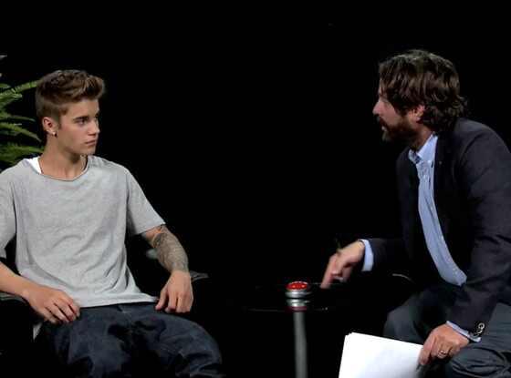 Justin Bieber, Zack Galifianakis, Funny or Die