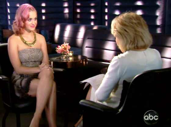 Katy Perry, Barbara Walters
