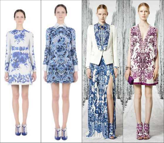 Collage Cavalli e Valentino