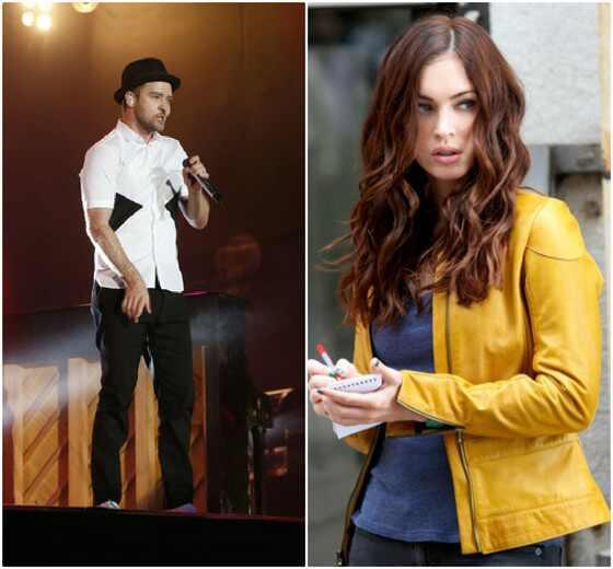 Justin Timberlake, Megan Fox