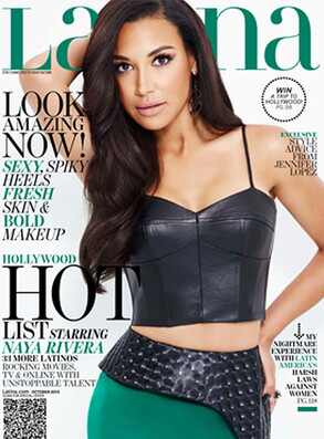Naya Rivera, Latina Magazine