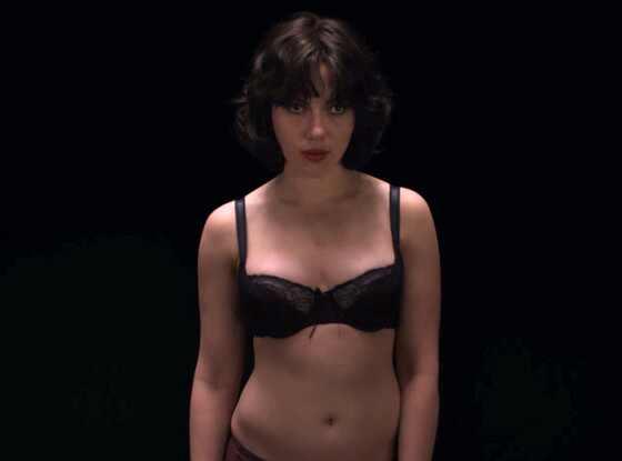 Scarlett Johansson, Under the Skin Trailer