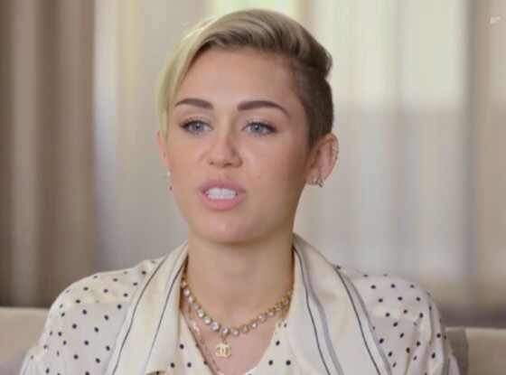 Miley Cyrus, MTV Interview