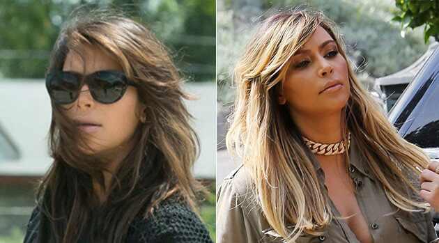 Kardashians cabelos