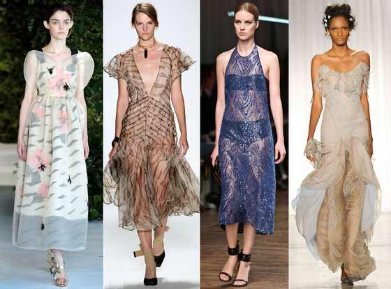 Sheer Trend, Fashion Week