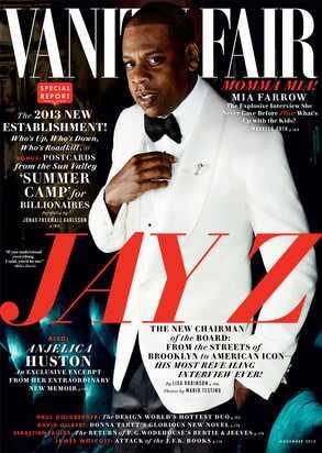 Jay Z, Jay Z Vanity Fair