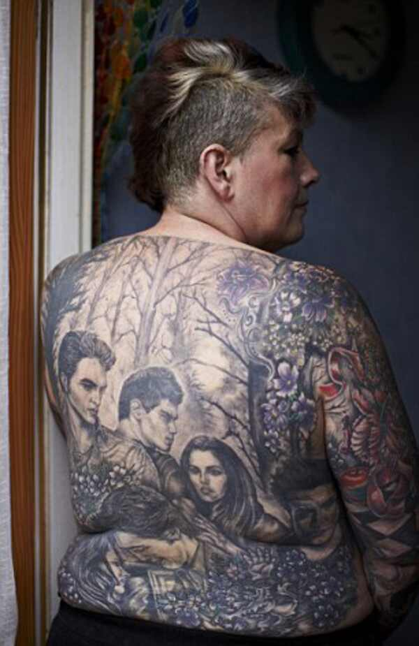 Fa Crepusculo, fa tatuagem crepusculo