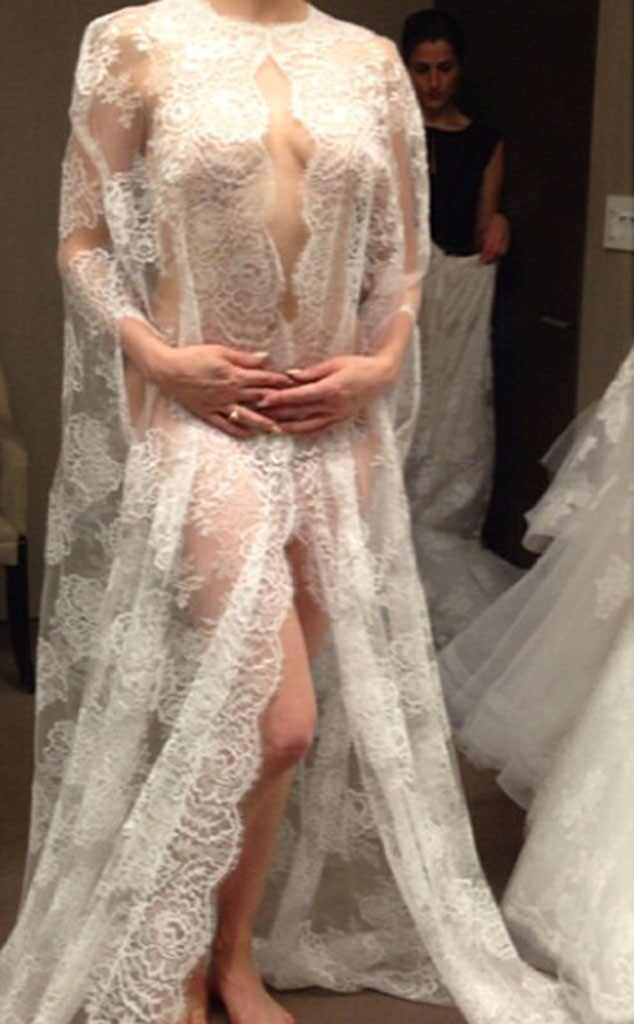 Rose mcgowan leaves monique lhuillier store before wedding for See through wedding dresses