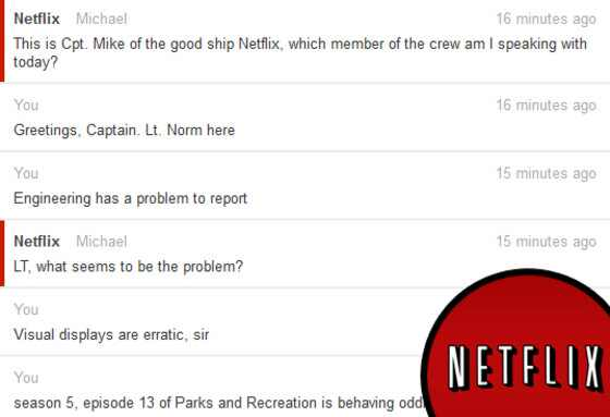 Netflix Conversation