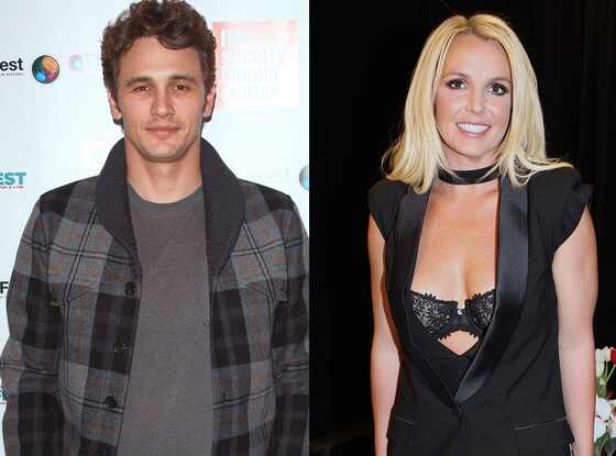 Britney Spears, James Franco