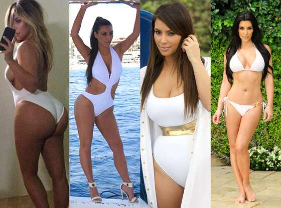 Kim Kardashian, Bikini,