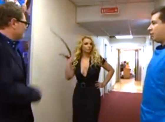Britney Spearsm  Alan Carr Chatty Man