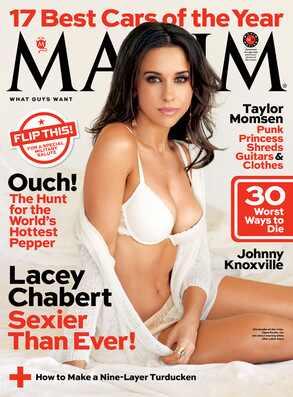 Lacey Chabert, Maxim