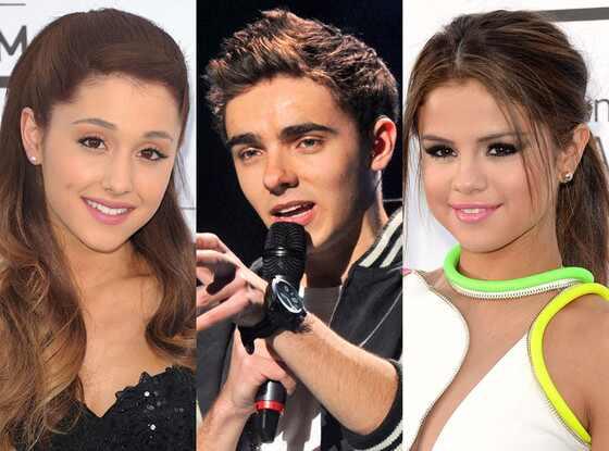 Ariana Grande, Nathan Sykes, Selena Gomez
