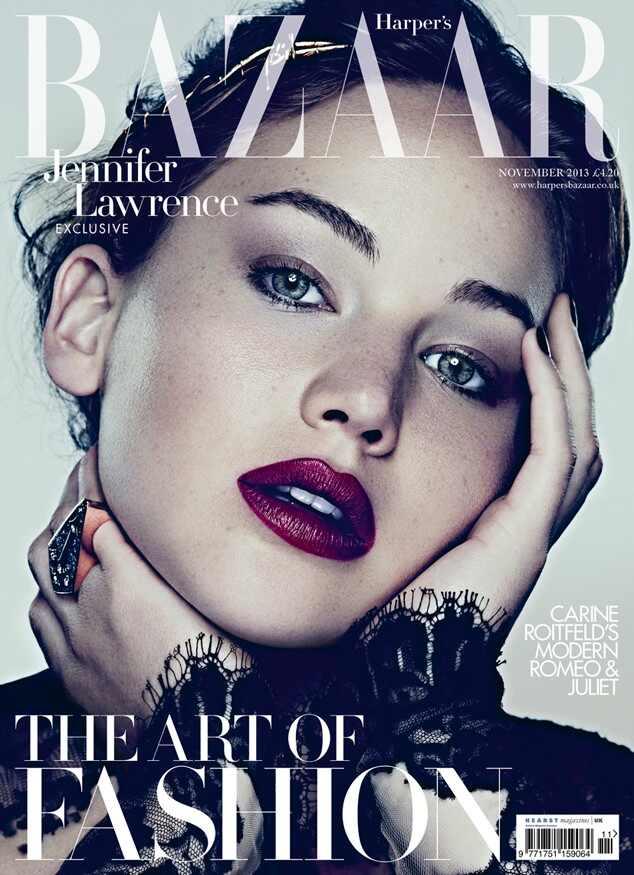 Jennifer Lawrence, Harper?s Bazaar