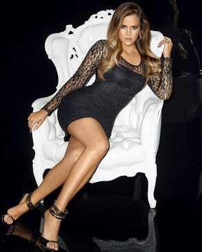 Khloe Kardashian Odom, Lipsy