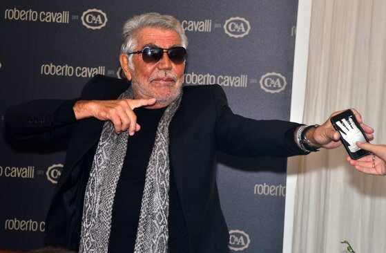 Roberto Cavalli no Brasil