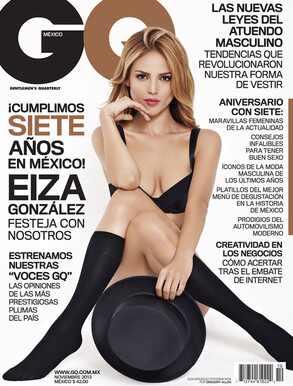 Eiza Gonzalez, GQ Mexico