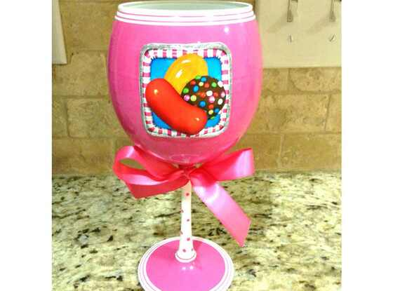 Candy Crush, Wine glass
