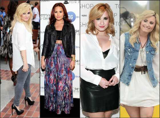 Demi Lovato estilo