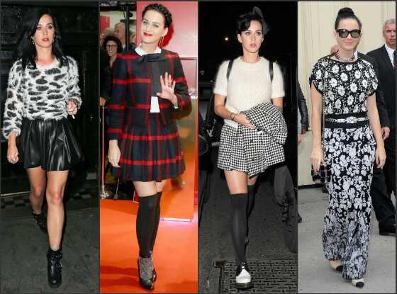 Katy Perry e seu estilo