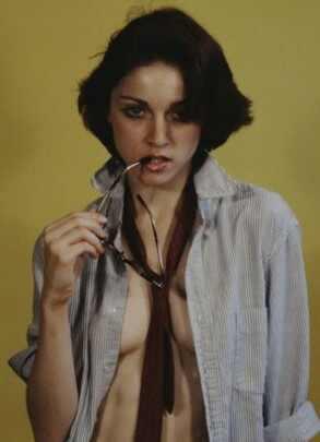 Madonna, Madonna jovem