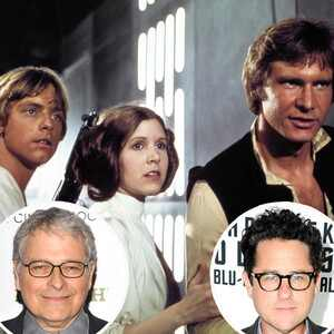 Luke Skywalker, Princess Leia, Han Solo, Star Wars, Lawrence Kasdan, J.J. Abrams