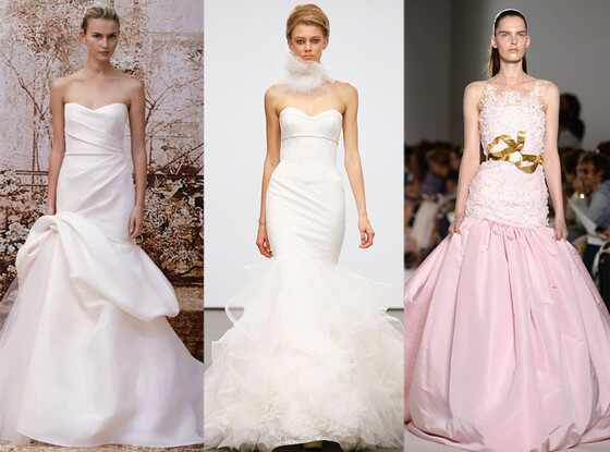 Kim Wedding Dress Predictions: Monique Lhuillier, Vera Wang, Giambattista Valli
