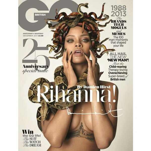 Rihanna, British GQ