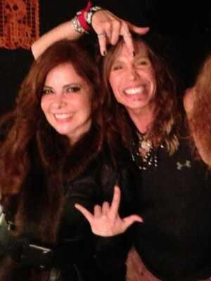 Gloria Trevi, Aerosmith