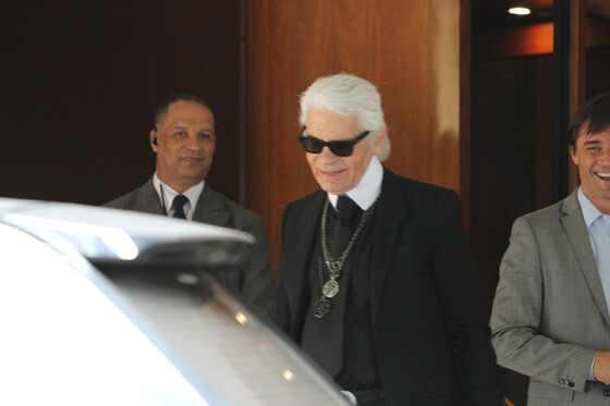 Karl Lagerfeld, Karl Lagerfeld no Brasil