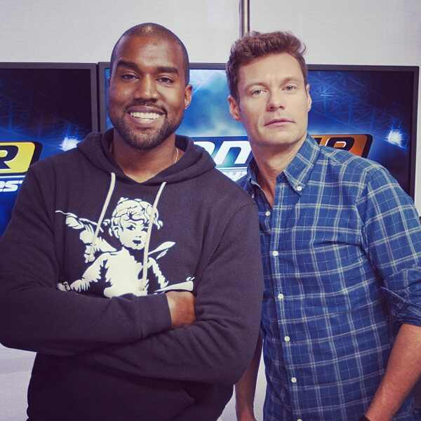 Kanye West, Ryan Seacrest
