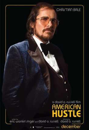 American Hustle, Poster, Christian Bale