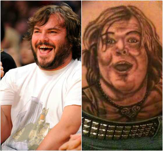 Tatuagens rosto famosos, Tatuagens famosos