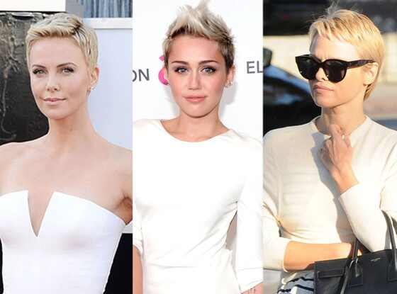 Pixie Hair: Charlize Theron, Miley Cyrus, Pamela Anderson