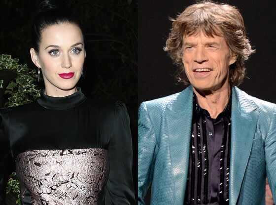 Katy Perry, Mick Jagger