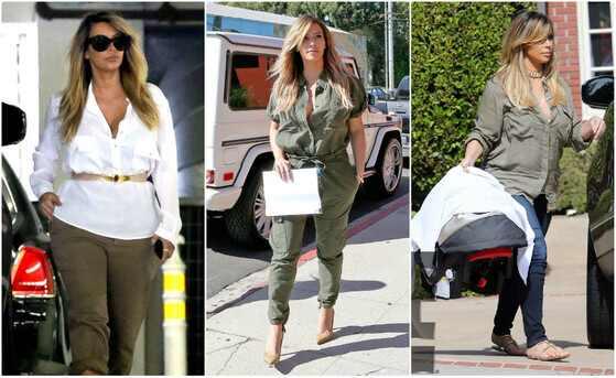 Kim Kardashian, estilo pos gravidez Kim Kardashian