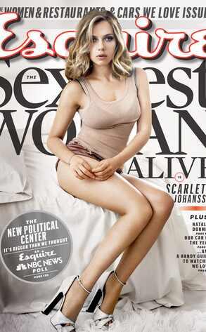 Scarlett Johansson, Esquire Magazine